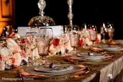 indian wedding reception floral and decor,floral centerpieces,indian wedding planning and design