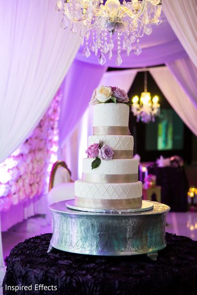 indian wedding reception,wedding cake,floral and decor