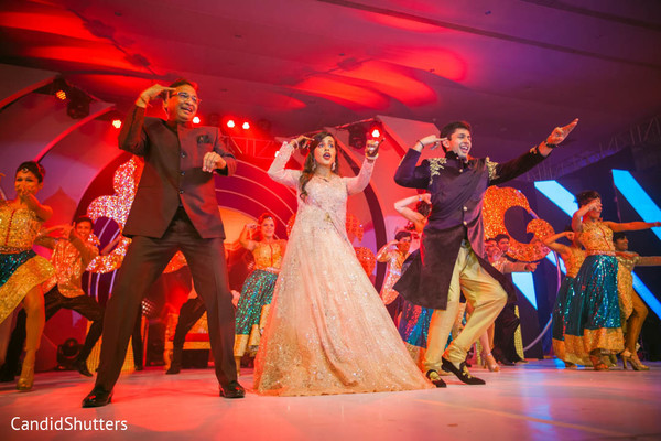 sangeet,pre- wedding celebrations,dj and entertainment,indian bride and groom