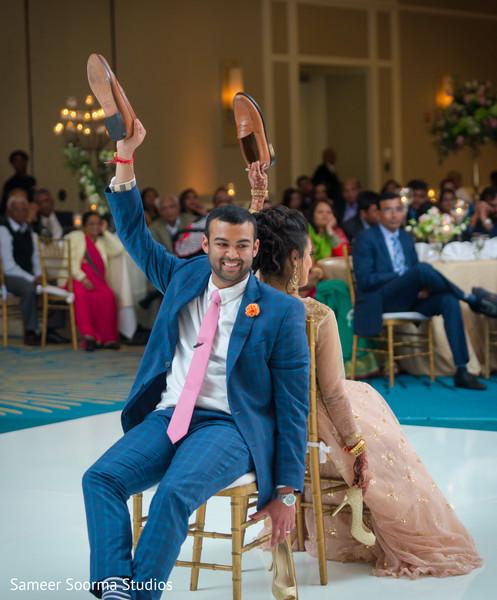 Fun Indian Wedding Reception Game Photo 121049