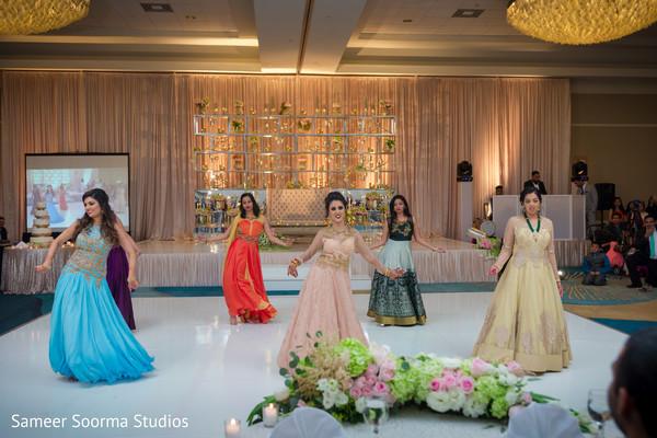 choreography,indian wedding reception,reception fashion,dj