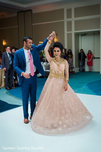 indian groom,indian bride,indian wedding reception,dj