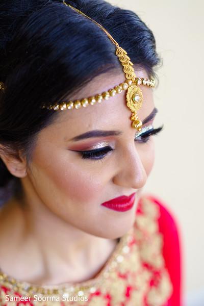 indian bride,hair and makeup