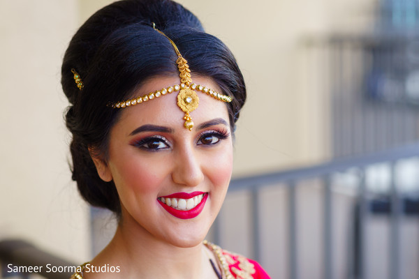 indian bride,hair and makeup,indian bride fashion