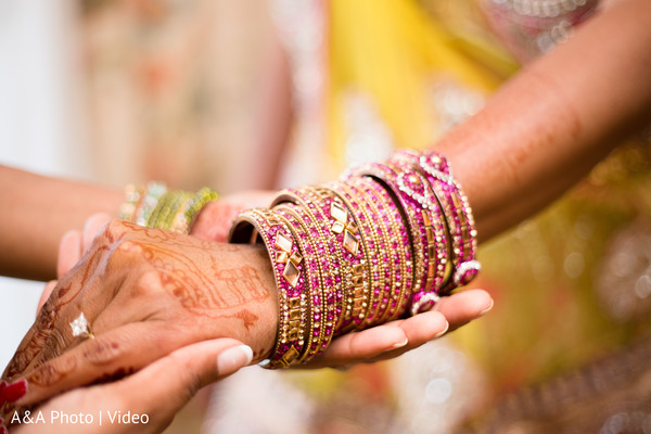 indian bride,getting ready,bridal jewelry,bangles