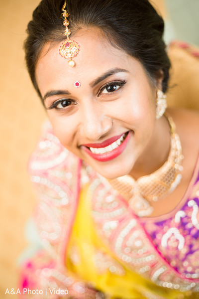 indian bride,hair and makeup,bridal jewelry,portrait