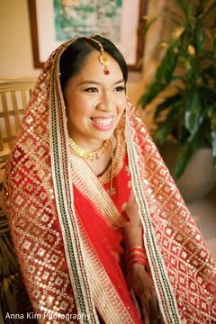 indian bride fashion,bridal jewelry,bridal tikka,indian bride getting ready
