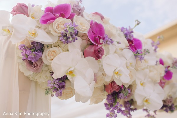 mandap,indian wedding ceremony floral and decor,indian wedding ceremony
