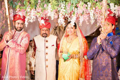 south indian wedding ceremony,indian bride,floral and decor,canopy