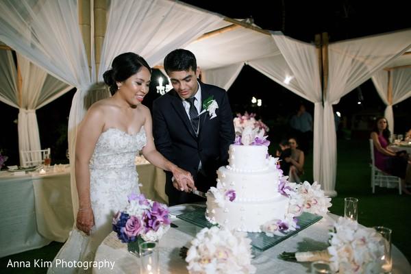 indian wedding reception,indian wedding cake,indian bride reception fashion,indian groom suit