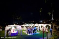 indian wedding reception,lightning,dj and entertainment,monogrammed dance floor