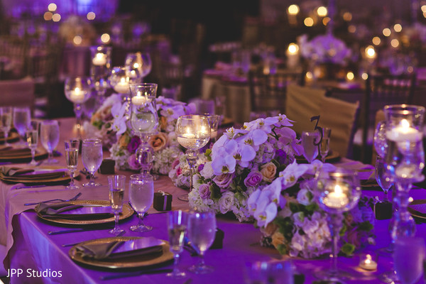Phenomenal Indian Wedding Floral Centerpieces In Oak Brook IL Hindu Muslim Fusion By