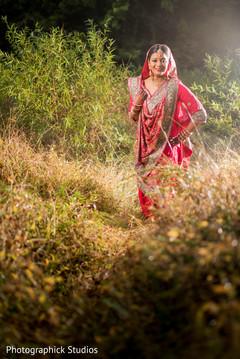 indian bride,portrait,indian wedding photography,indian bride lengha