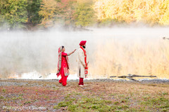 sikh indian bride and groom,ceremony fashion,indian wedding photography