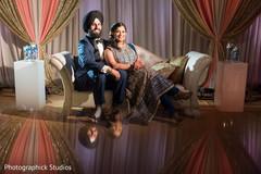Glamorous Indian couple.