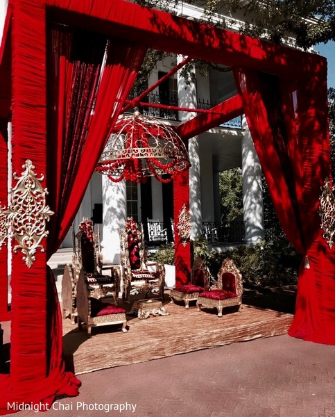 mandap,floral and decor,planning and design,indian wedding ceremony