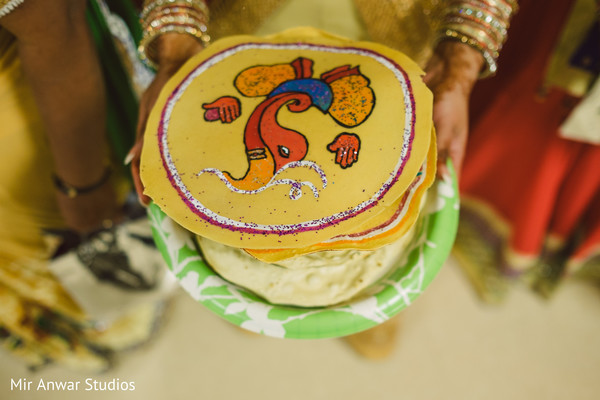 Indian pre-wedding ceremony items