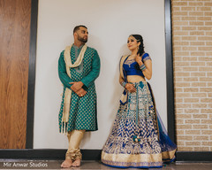 pre- wedding celebrations,sangeet,indian groom fashion,indian bride lengha