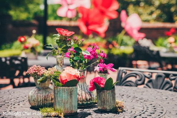 Enchanting floral centerpieces.