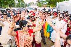indian bride fashion,indian groom fashion,milni ceremony