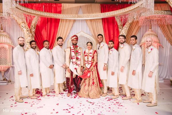 indian wedding ceremony,indian groomsmen fashion,indian groom fashion,indian bride fashion