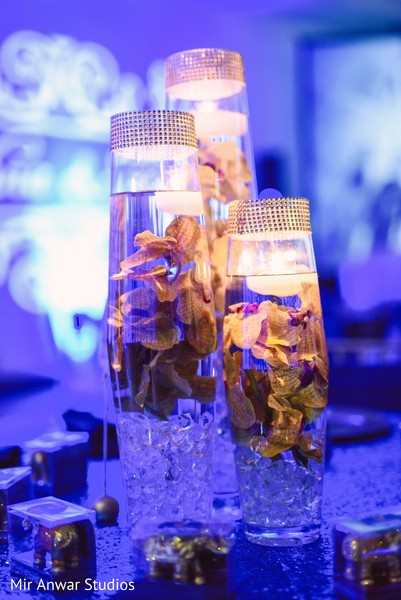 indian wedding reception,indian wedding planning and design,table centerpieces