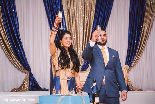 indian wedding reception,indian bride reception fashion,indian groom suit