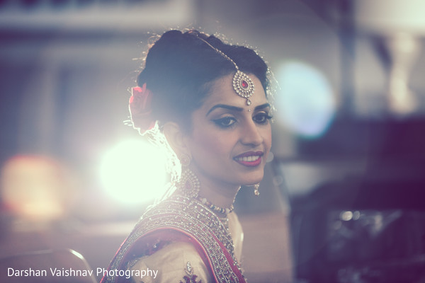 hair and makeup,indian bride,bridal fashion