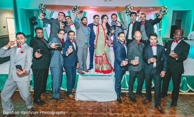 indian wedding reception,indian bride,indian groom,groomsmen