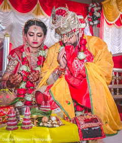 indian bride and groom,indian wedding ceremony