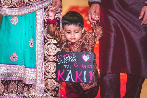 wedding sign,ring bearer boy,indian wedding ceremony