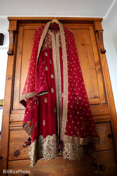 red lengha,bridal fashion,red and gold lengha