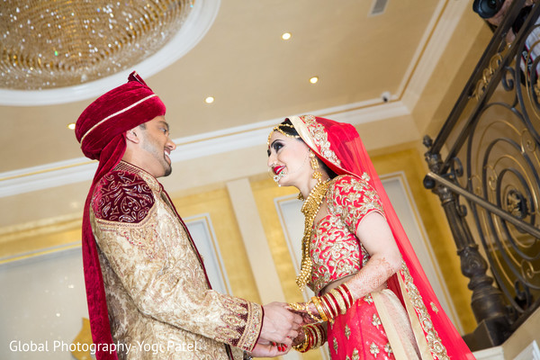 indian groom fashion,indian bride fashion,bridal jewelry,first look photography