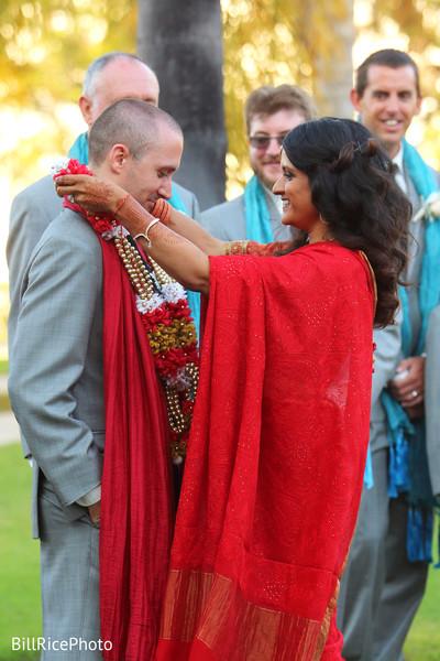 Maharani exchanging garland