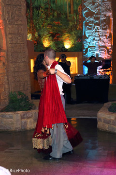 indian wedding reception,indian couple,first dance