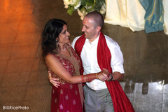 first dance,indian wedding,indian newlyweds