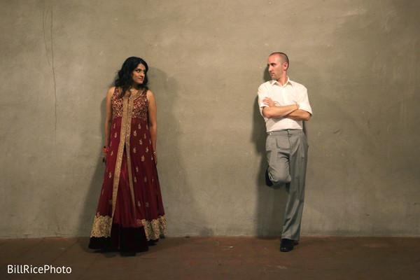 Creative indian wedding photo