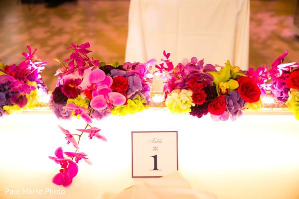 Stunning indian sweethearts table decor