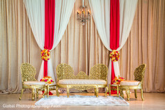floral and decor,wedding stage,indian wedding reception