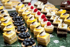 indian wedding reception,cakes and treats,catering,wedding dessert