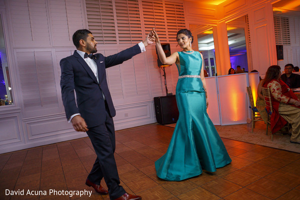 indian groom,indian bride,indian wedding reception,dj