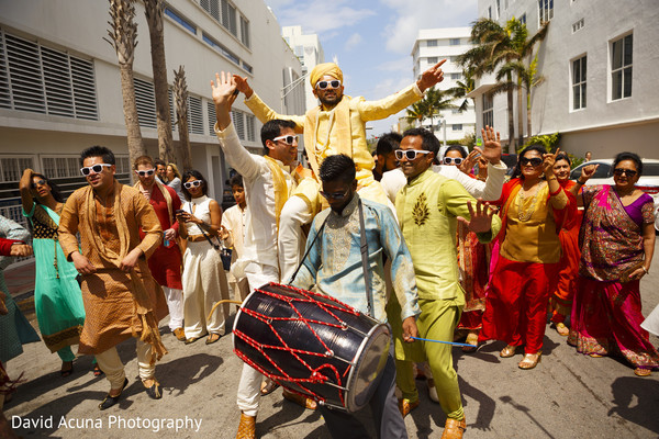 baraat,dhol player,wedding procession,indian groom