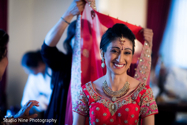 indian bride fashion,ghoonghat,indian bride getting ready