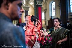 indian bride,indian groom,christian wedding ceremony