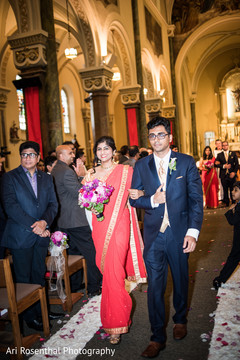 indian bridesmaids,indian groomsmen,hindu-christian wedding ceremony