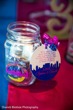 indian wedding reception,favors,indian wedding planning and design