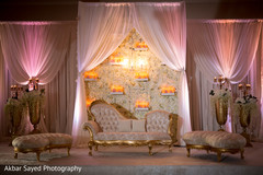 indian wedding reception floral and decor,reception stage,indian wedding reception