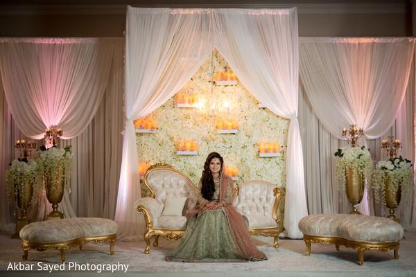 indian bride fashion,indian wedding reception,reception stage