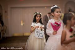 flower girl,indian wedding reception