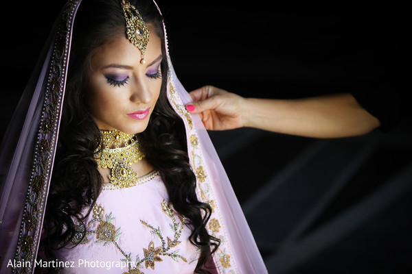 bridal jewelry,bridal tikka,indian bride hair and makeup